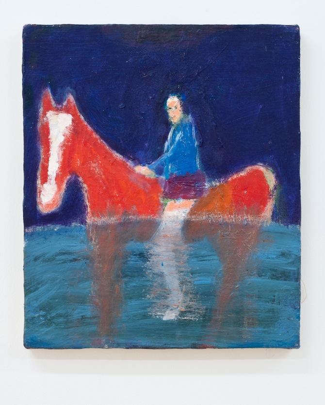 Katherine Bradford_at ADAMS AND OLLMAN in Portland, USA, featured on artfridge