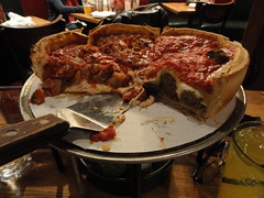 Deeply stuffed pizza from Giordano's