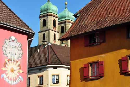 Bad Säckingen Oberrhein Münster Fridolinsmünster Silberschrein Foto Brigitte Stolle