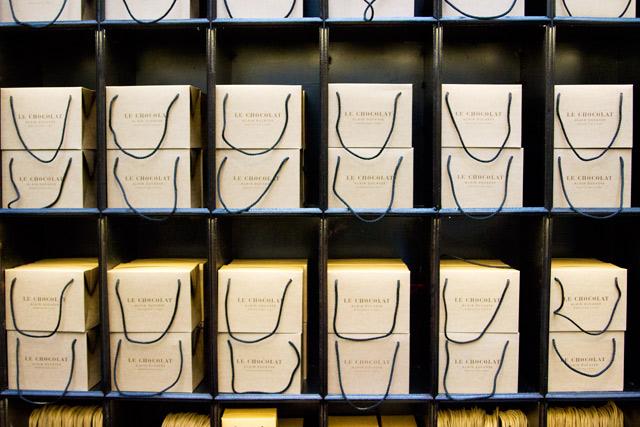 Alaine Ducasse chocolate factory Paris