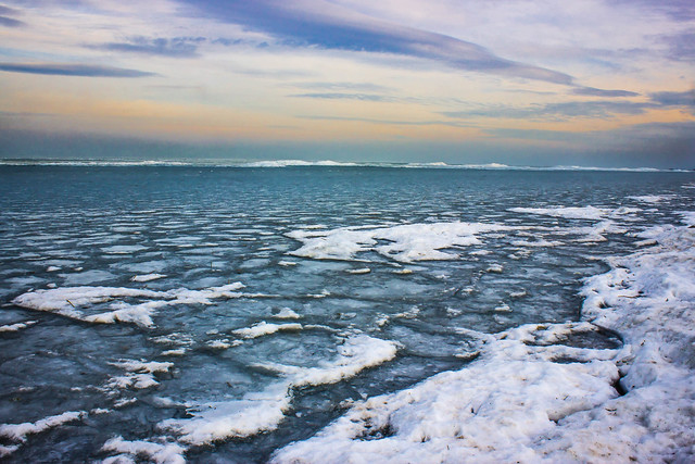 Frozen Lake Balaton Flickr Photo Sharing