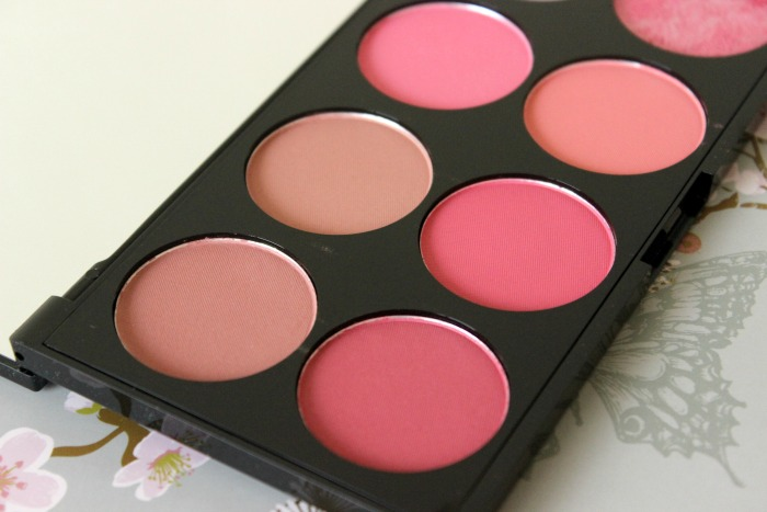 Makeup Revolution Blush Palette Sugar & Spice 1