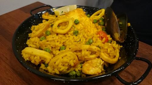 Paella Republica Seafood