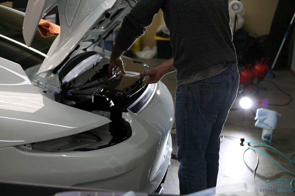 Atlanta Porsche Car Detailing and Clear Bra