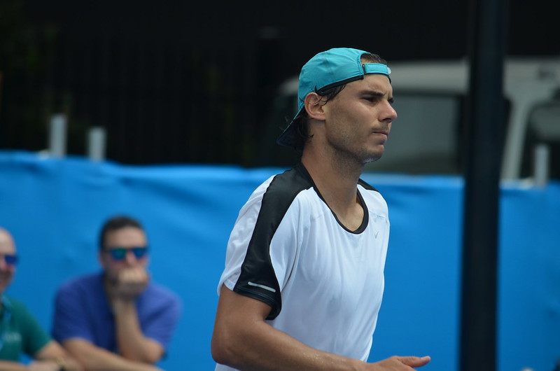Australian Open 2015: Photos from Rafa's Day 2 Practice Session