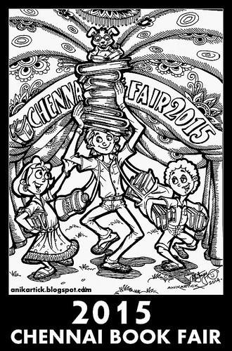 , CHENNAI BOOK FAIR 2015 – 38th CHENNAI BOOK FAIR 2015  Welcomes You,YMCA Ground,NANDANAM,CHENNAI – Artist Anikartick, Chennai,TamilNadu,India., My cartoon Blog, My cartoon Blog