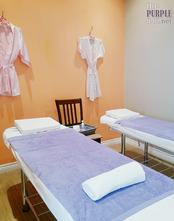 Waxing and Massage Room at Make Me Blush