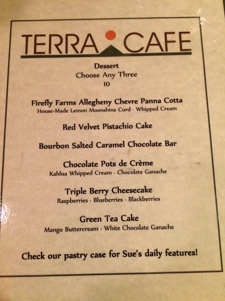 Terra dinner