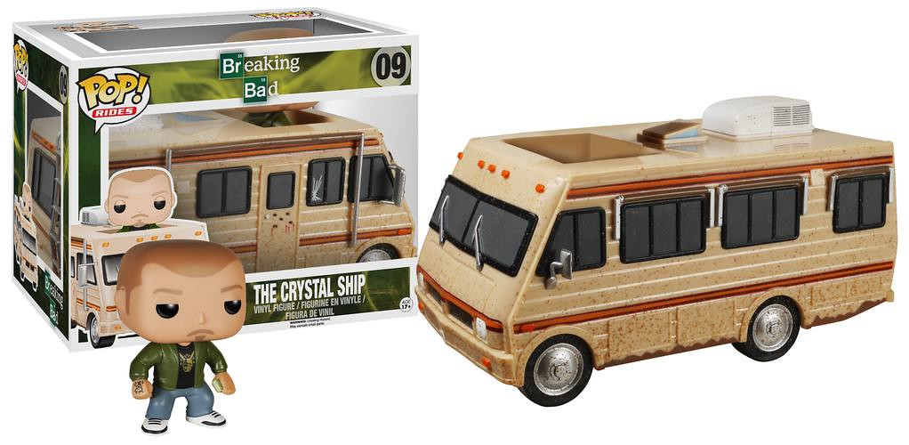 FUNKO RIDES 系列 絕命毒師【移動製毒車】Breaking Bad The Crystal Ship