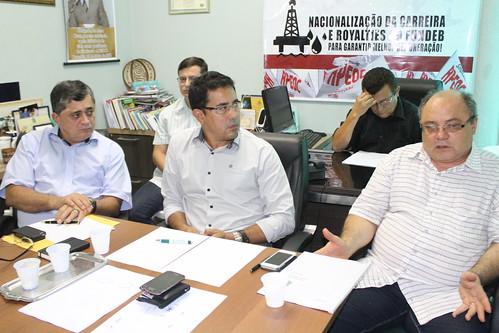 Reunião com Sindicato Apeoc e secretário de Educação do Ceará