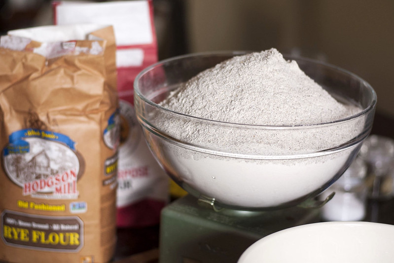 You'll need a lot of flour and some really big bowls