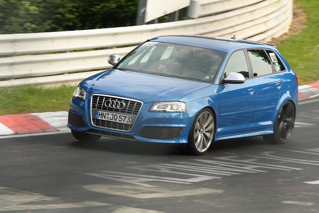 Audi RS3 test mule 7