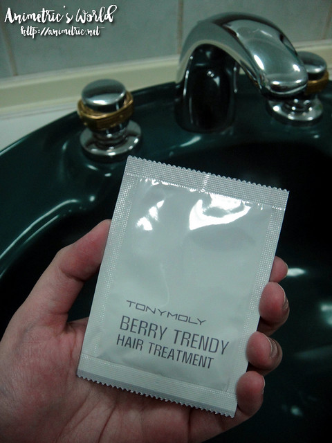 Tonymoly Berry Trendy Hair Color Cream