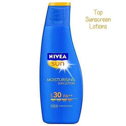 Best Sunscreen Lotion in India #10 - Nivea Sun Moisturising Lotion SPF 30