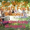 Vendors can apply now for @gowestcraftfest's Fall event, October 1 at @woodlandsphila! See gowestcraftfest.com for the application. Looking forward to another fun filled day of crafts, music, food and acrobats! (Thanks to @ryan_collerd for the photo)