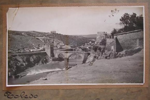 Foto desde roca tarpeya por Carlos Perez de Rozas, exposicion 1928 R. Comas