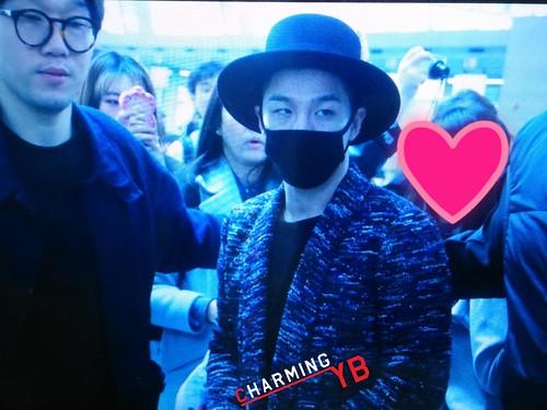Big Bang - Incheon Airport - 21mar2015 - Tae Yang - charmingyb - 03