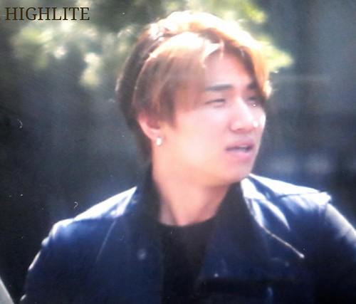 Big Bang - SBS Inkigayo - 24may2015 - Arriving - Dae Sung - High Lite - 01