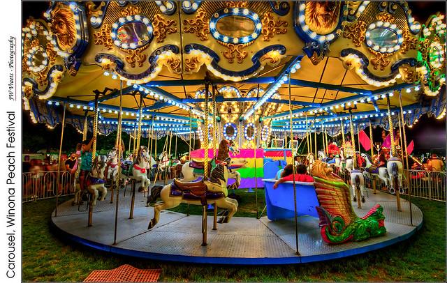 Carousel, Winona Peach Festival