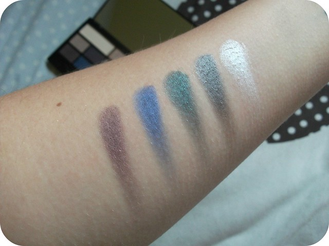 I Heart Passion 3rd row swatches
