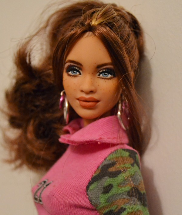 Morrie- Biracial SIS Marisa Repaint by Doll Anatomy - a photo on ...