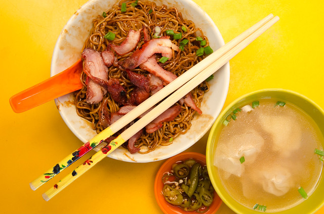 Hooi Kee Wantan Mee of Yuen Kee kopitiam at Bentong, Pahang