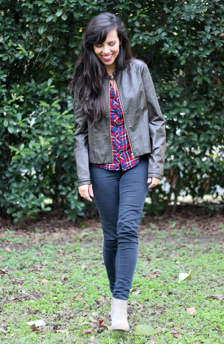 brown leather jacket outfit ideas, austin texas style blogger, austin fashion blogger, austin texas fashion blog