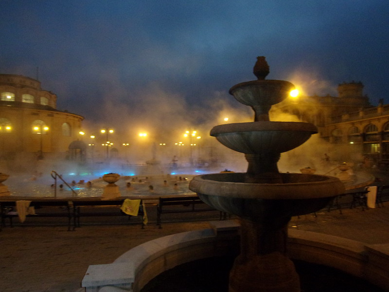 Twilight, Szechenyi Baths