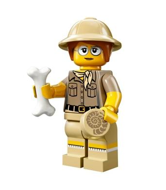 Minifigures s13 Paleontologist