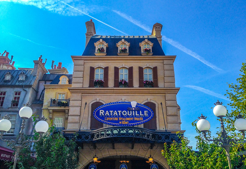 The Ratatouille Ride in Disneyland Paris