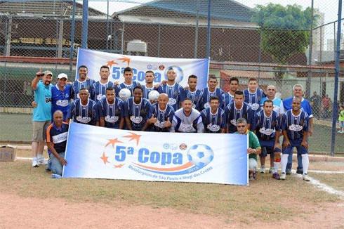 Times das Oitavas de Final - 5ª Copa de Futebol de Campo