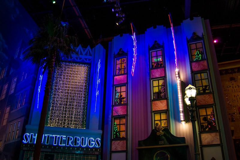 Walt Disney Studio 1 Christmas Window Decorations