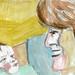 Mother & Child by Gila Mosaics n'stuff