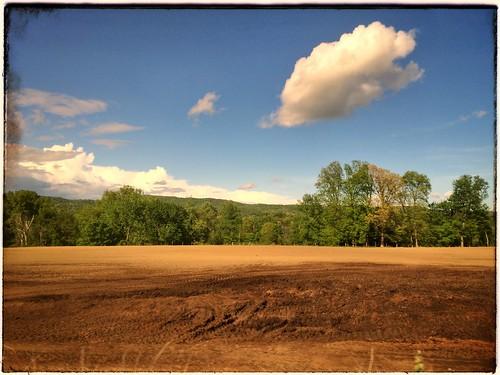 travel trees windows clouds landscapes countryside vermont trains amtrak transportation fields vernon vt portals railroads throughawindow vermonter snapseed