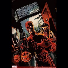 Undead superheroes to close out the night. Happy #Halloween everyone! #Horror #Comics
