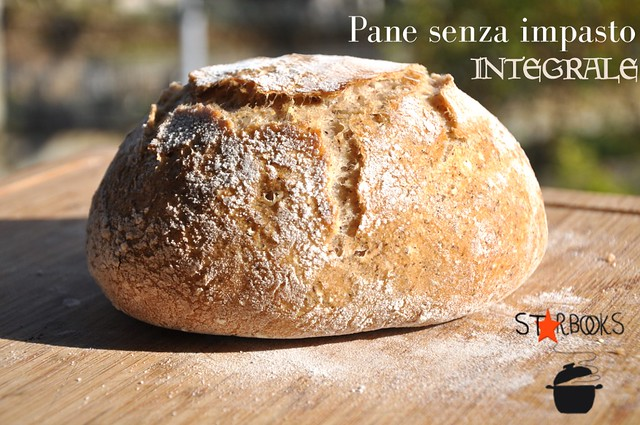 pane senza impasto integrale SB
