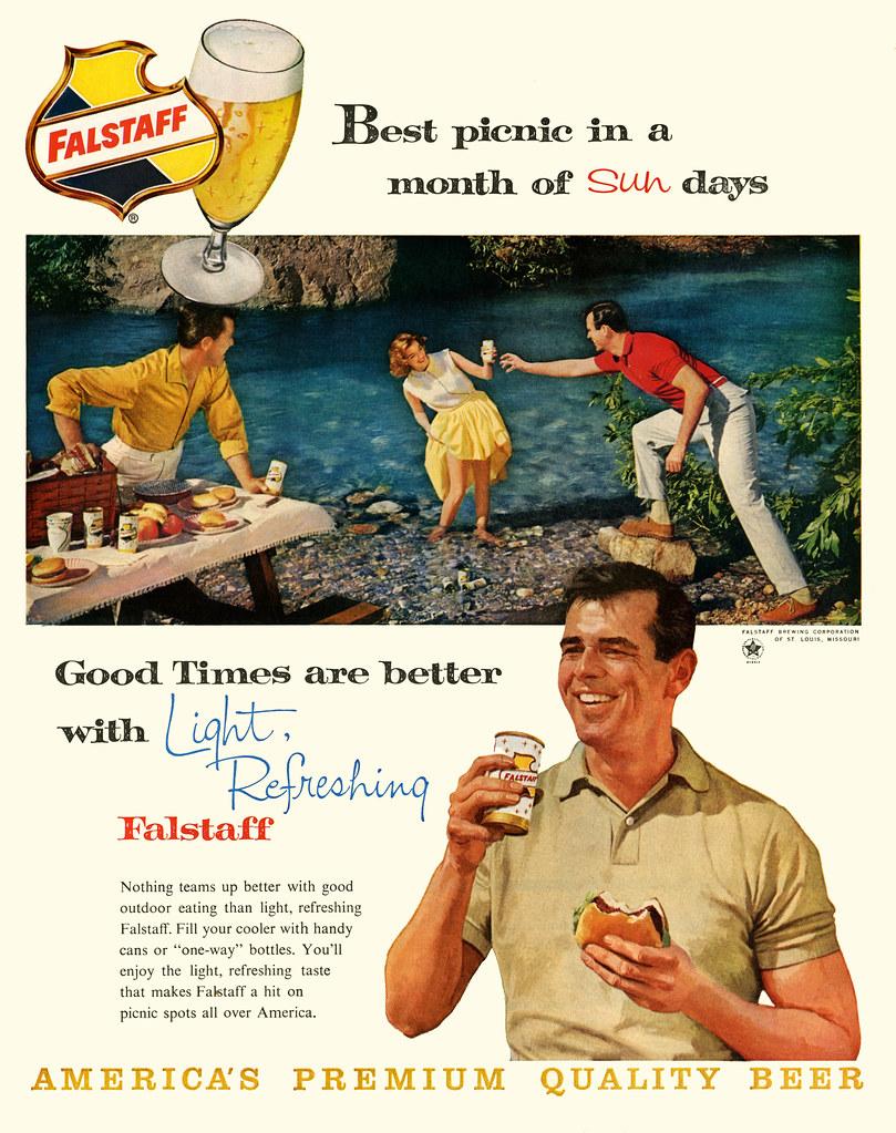 Falstaff-1960-picnic