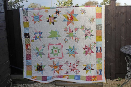 Finished Hipbee Quilt