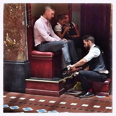 #shoe #shine #qvb #Sydney