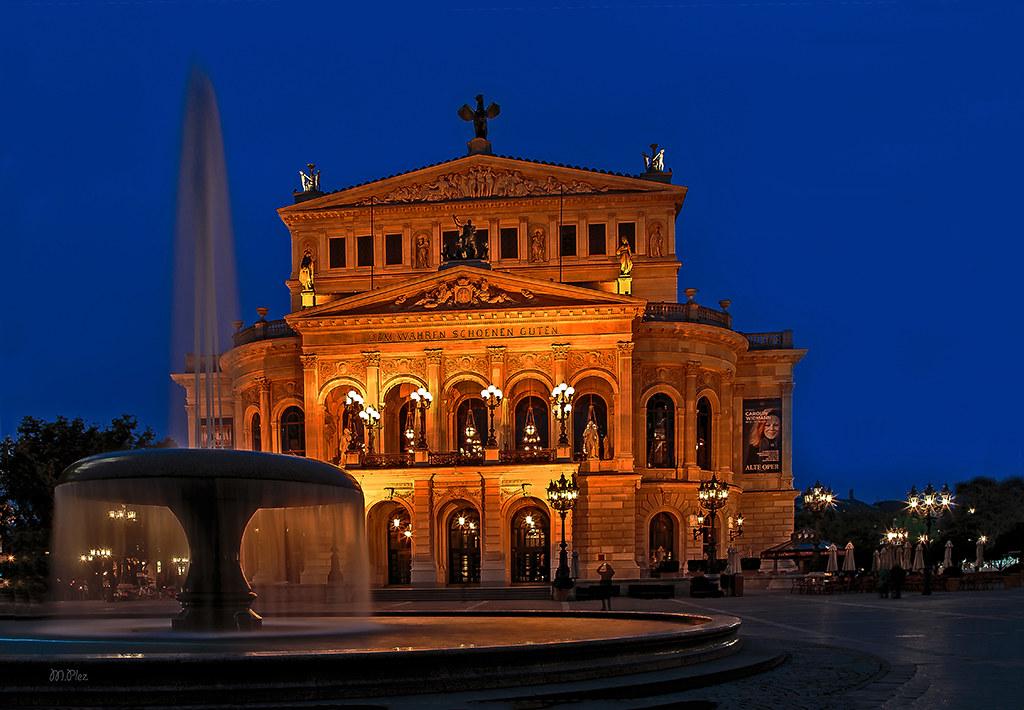 Parkplatz Alte Oper Frankfurt