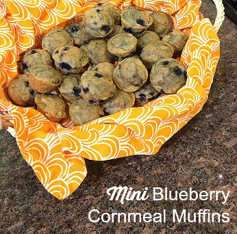 Recipe for Mini Blueberry Cornmeal Muffins, PLUS: How Many Cooks in ...
