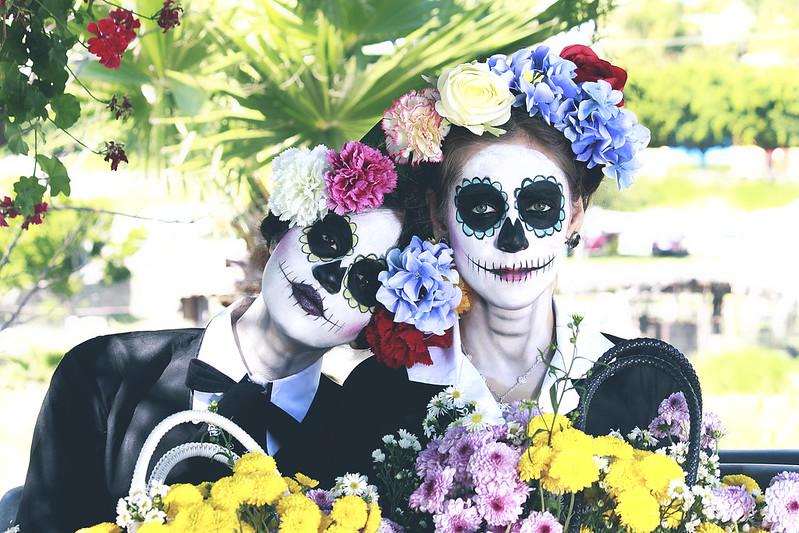 Le rendimos homenaje a la letal mujer de la cual tomamos el nombre con esta colaboración realizada con María Calatea, Paty Garciarce y Mayte Martínez. #Catrina #DiaDeMuertos en www.oddcatrina.com