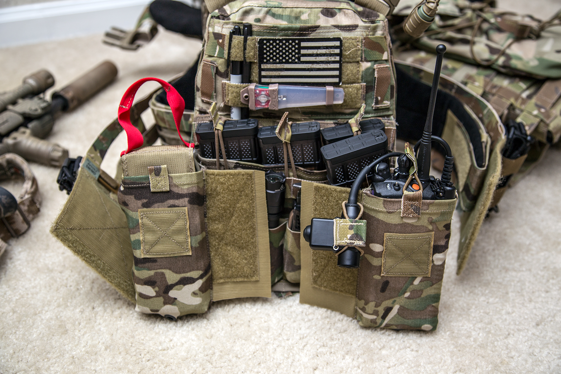 Plate carrier thread? ** This is NOW a post pics of your