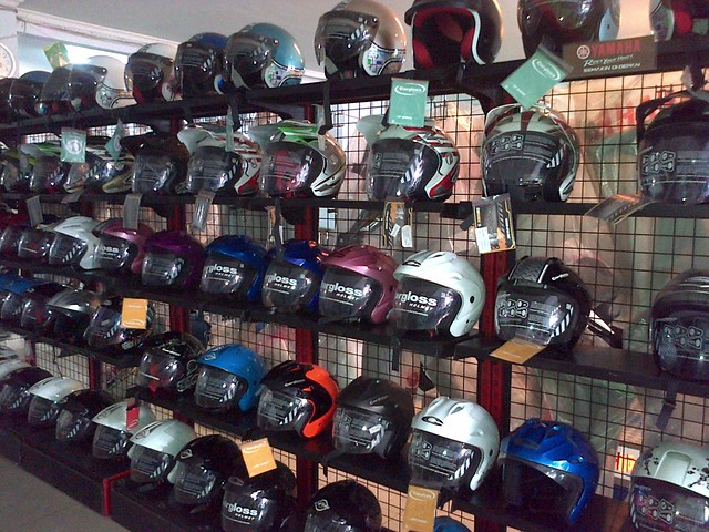 Cargloss Half-Face Helmet
