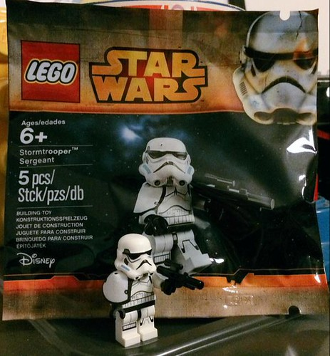 LEGO Star Wars Stormtrooper Sergeant Polybag