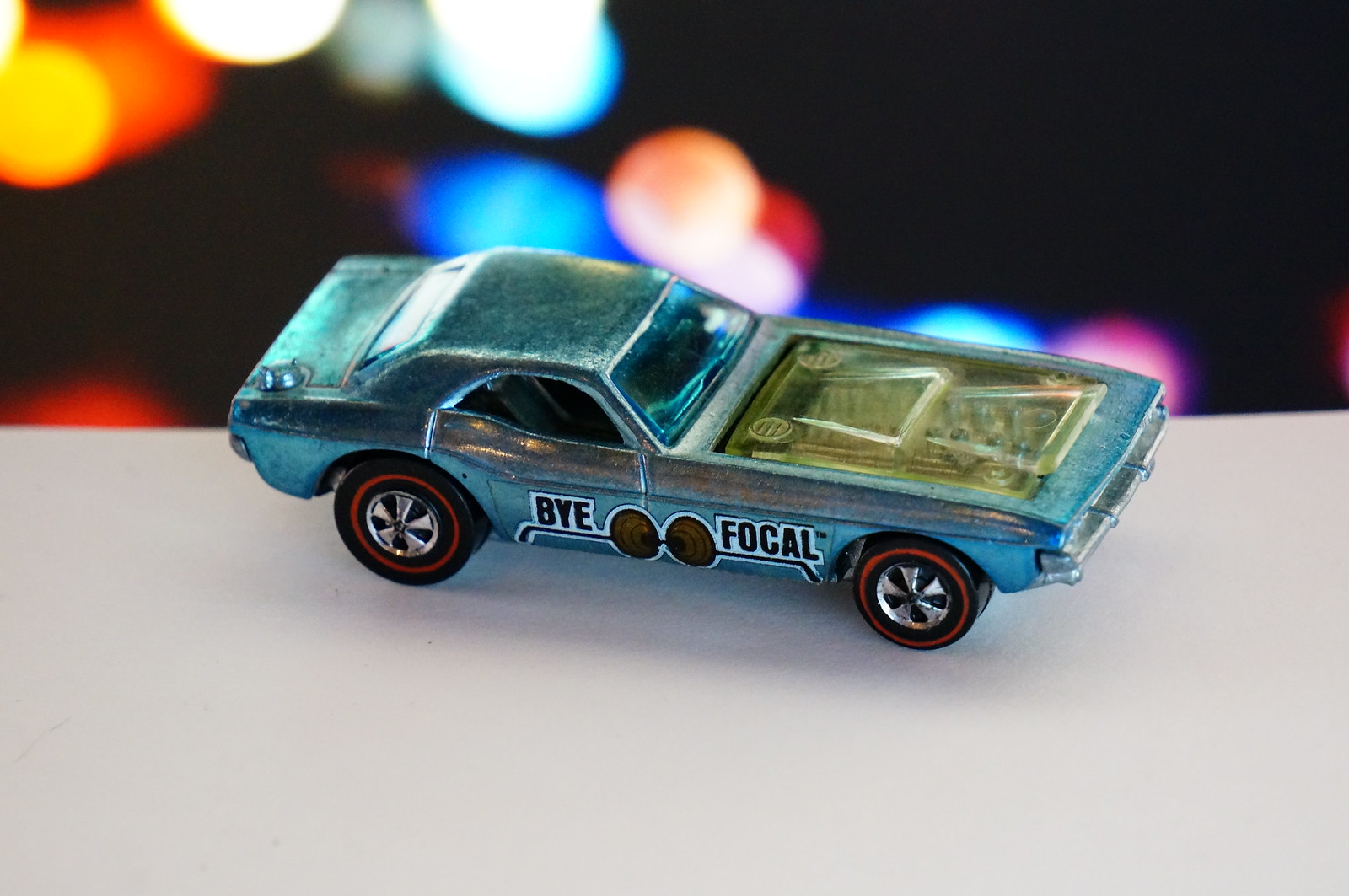 Hot Wheels Redline Light Blue Bye Focal
