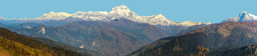 nepal snow mountains canon natural hill panoramic capped himalayas canon600d mistersteeb stevecannings