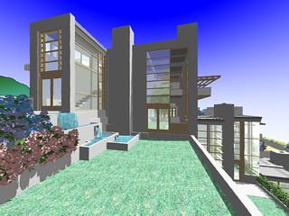 Unit4 garden rendering