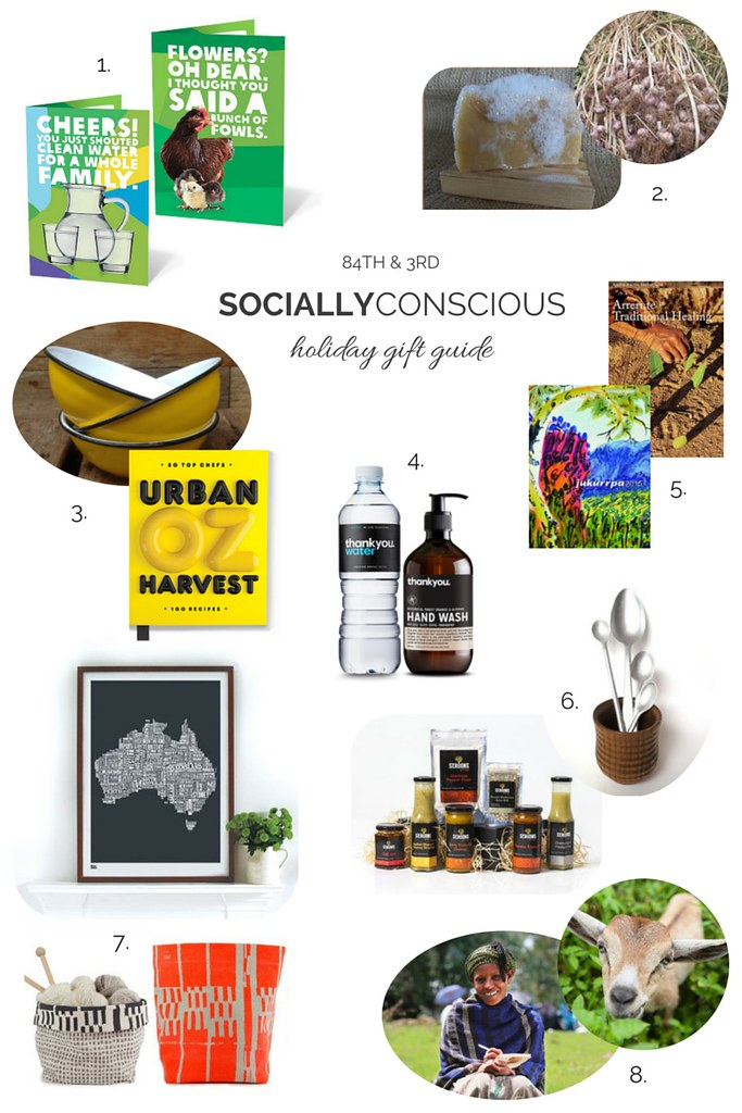 Socially Conscious Holiday Gift Guide 2014