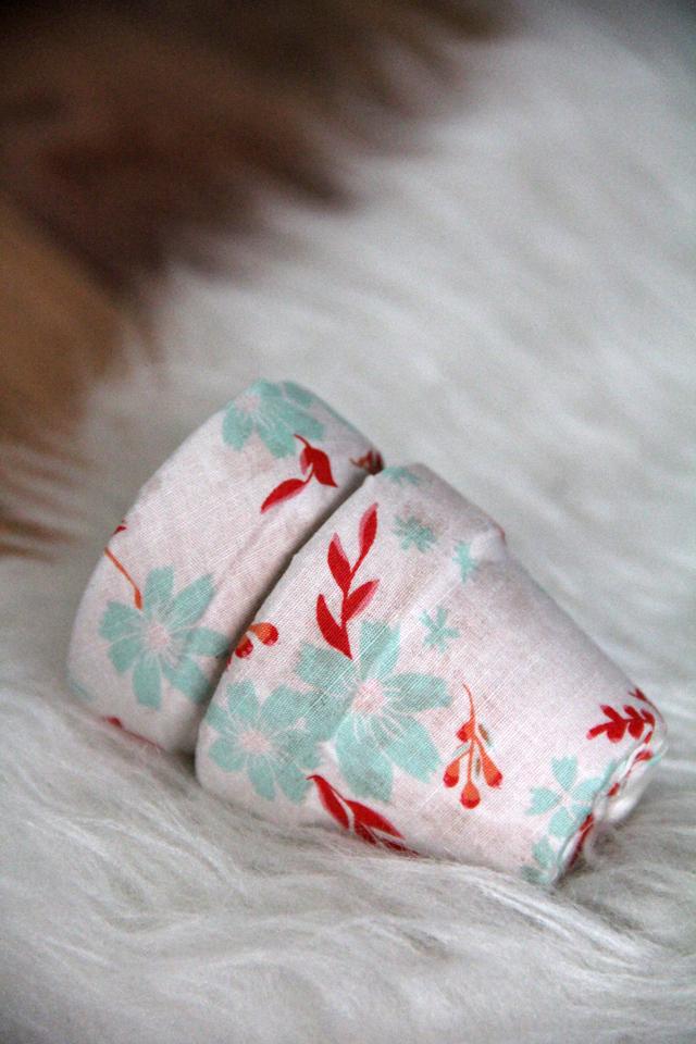 DIY Fabric Covered Terra Cotta Pots 7